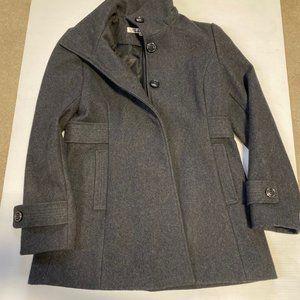 Kenneth Cole Charcoal Pea Coat